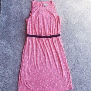 Ann loft petite extra small summer dress polka dot